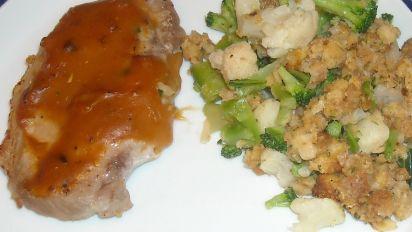 pork chop golden mushroom soup stuffing recipe Golden Mushroom Pork Chop Bake