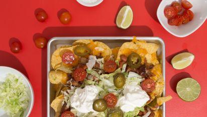 Bbq Nachos A La Famous Dave S Recipe Food Com