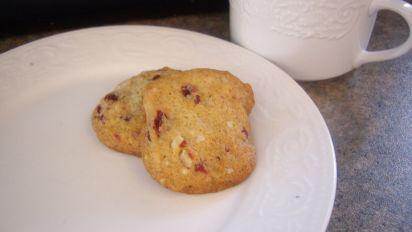 Cranberry Pistachio Refrigerator Cookies