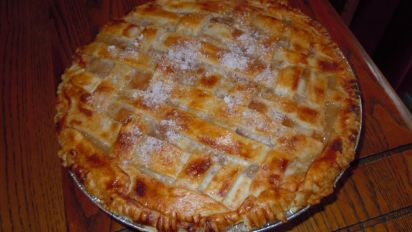 Sour Cream Peach Pie Recipe Food Com