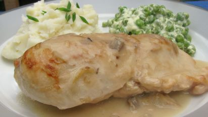Baked Chicken Gravy Recipe Food Com