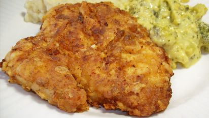 Buttermilk Fried Chicken Breast Filets Recipe Food Com
