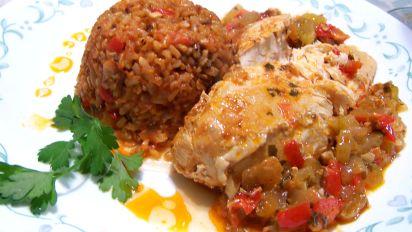 Sofrito Chicken (Crockpot, Crock Pot)