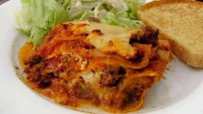 Stupendous Easy Lasagna With Cottage Cheese Home Interior And Landscaping Mentranervesignezvosmurscom