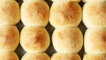 Buttery Yeast Rolls Recipe Food Com