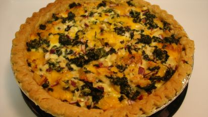Chicken And Spinach Quiche Recipe Food Com