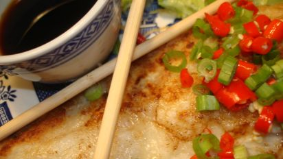 Pan Fried Cod With Asian Dressing Recipe Food Com