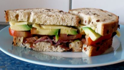 Avocado Bacon Sandwich Recipe Food Com