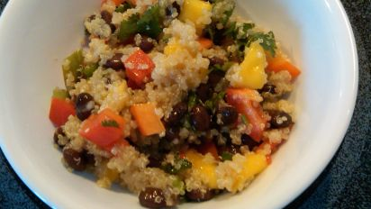 Ali Vincent S Mango Quinoa Salad Recipe Food Com