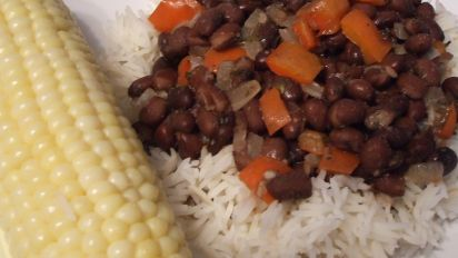 Classic Black Beans And Rice Recipe Food Com