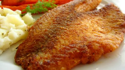 Pan Fried Seasoned Tilapia Recipe Food Com