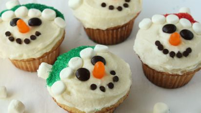 Christmas Cupcakes Recipe Food Com
