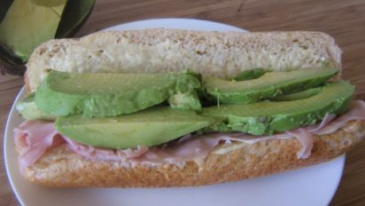 Avocado And Ham Sandwiches Recipe Food Com