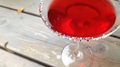 Tremendous Birthday Cake Martini The Fruity Version Recipe Food Com Funny Birthday Cards Online Elaedamsfinfo
