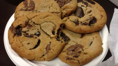 Soft And Chewy Chocolate Chip Cookies Recipe Food Com