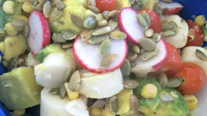 Mexican Avocado and Hearts of Palm Salad