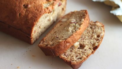 Moist Delicious Banana Nut Bread Recipe Food Com
