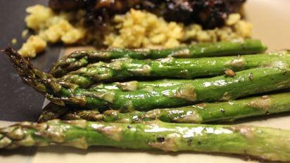 Asian Roasted Asparagus Recipe Food Com