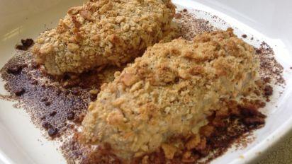 Magic Cracker Mixture on Breaded Pork Chops