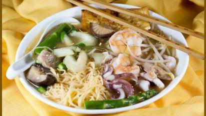 Asian Seafood Noodle Soup Recipe Food Com