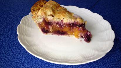 Peach Blueberry Pie Recipe Food Com