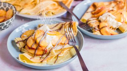 Great Easy Crepes Recipe Food Com