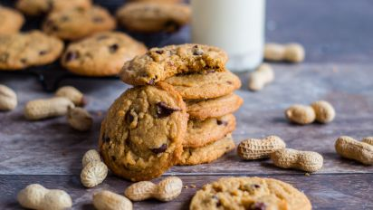 Peanut Butter Chocolate Chip Cookies Recipe Food Com