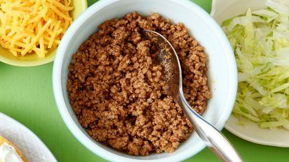 Copycat Taco Bell Seasoned Beef Recipe Food Com