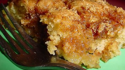 Apple Sour Cream Cake Recipe Food Com
