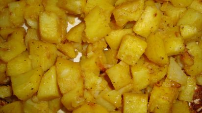 Dijon Honey Mustard Roasted Potatoes