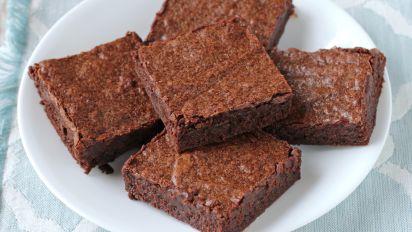 Moist Fudgy Cocoa Brownies Recipe Food Com