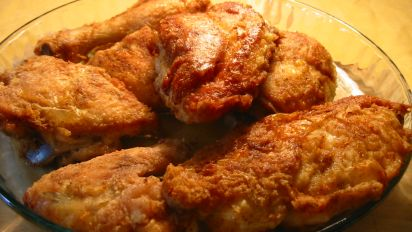 Mean Chef S Southern Fried Chicken And Gravy Recipe Southern Food Com