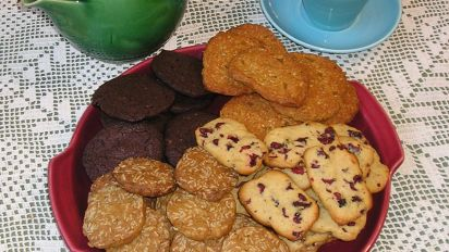Four Flavour Icebox Cookies