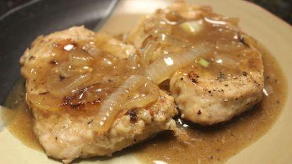 pork chop with onion gravy Pork Chops in Onion Gravy
