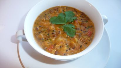 Mulligatawny Soup With Lentils Recipe Indian Food Com