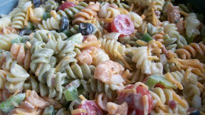 Ranch Pasta Salad Recipe Genius Kitchen