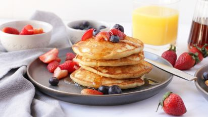 Milk Free Egg Free Pancakes Recipe Food Com