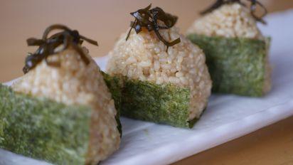Shio Kombu Onigiri (Japanese Seasoned Kelp Rice Ball)