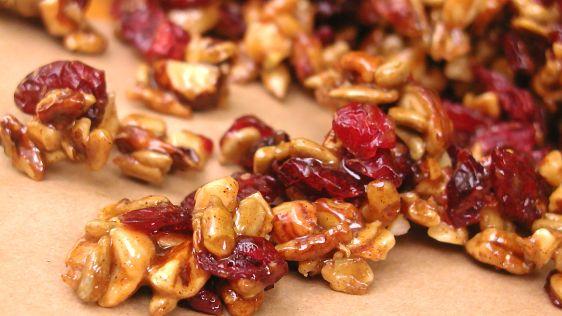 Honey Roasted Nuts and Fruit | Beanstalk Mums