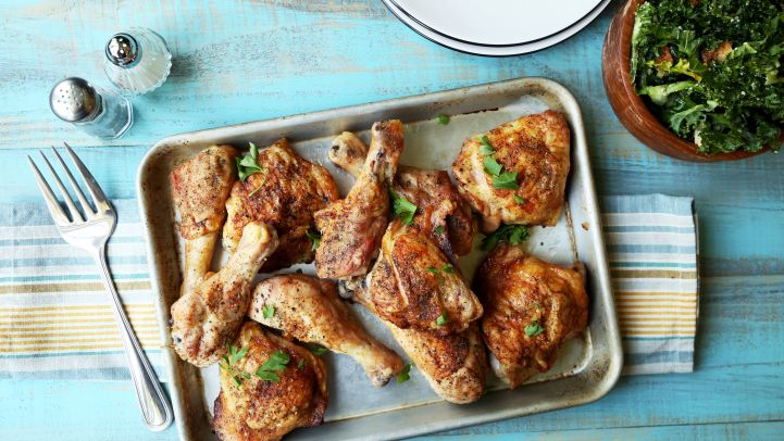 Baked chicken breast quarters recipes