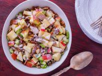 Frog Eye Fruit Salad - the best fruit salad EVER using acini de pepe pasta (