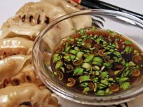 Homemade Vegetable Potstickers with Toasted Sesame Honey Soy Sauce |  halfbakedharvest.com #vegan #