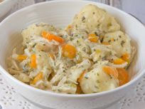 Chicken and dumplings like grandmas crock pot recipe genius kitchen chicken and dumplings forumfinder Choice Image