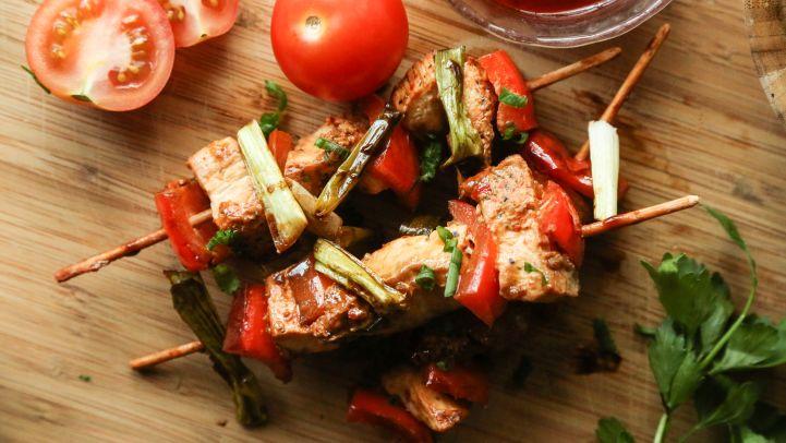 Favorite weight watchers recipes genius kitchen yakitori chicken kabobs recipe forumfinder Images