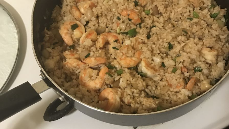 Easy shrimp fried rice recipe genius kitchen forumfinder Images