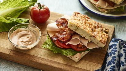 Bacon Turkey Bravo Sandwich Recipe Genius Kitchen
