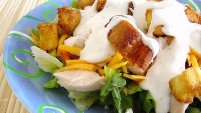 Ranch Chicken Salad Recipe Genius Kitchen