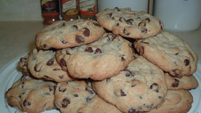 Big And Chewy Chocolate Chip Cookies Recipe Genius Kitchen