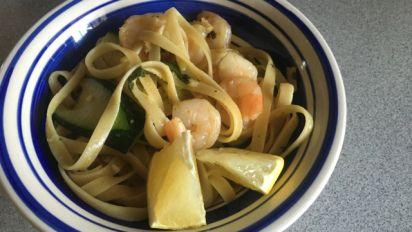 Olive Garden Fettuccine With Shrimp And Zucchini Recipe Genius Kitchen