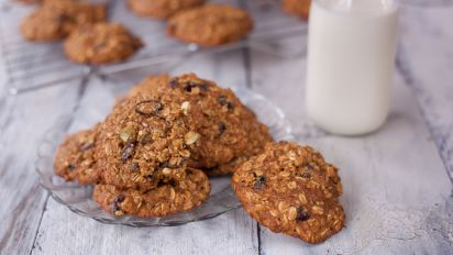 Healthy Honey Oatmeal Cookies Recipe Genius Kitchen